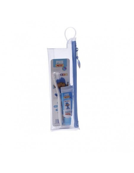 KIT DENTAL NECESER PHB POCOYO  GEL Y CEPILLO