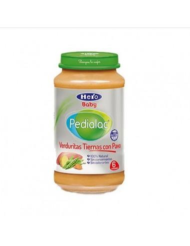 PEDIALAC VERDURITAS TIERNAS CON PAVO HERO BABY 250 G