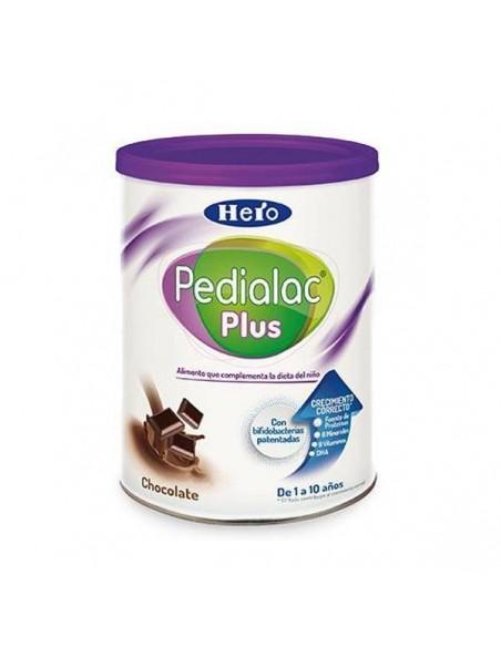 PEDIALAC PLUS CHOCOLATE SUPLEMENTO NUTRICIONAL HERO BABY 1 AÑO 400 G