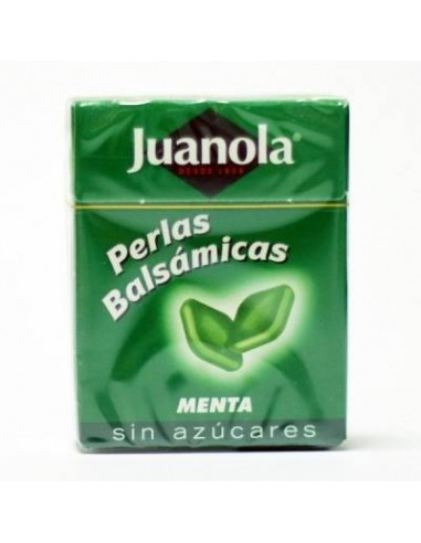 JUANOLA PERLAS BALSÁMICAS MENTA FRESCA 25 G