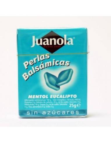 JUANOLA PERLAS BALSÁMICAS MENTOL EUCALIPTO 25 G