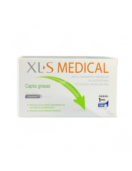 XLS MEDICAL CAPTAGRASAS 180 COMPRIMIDOS