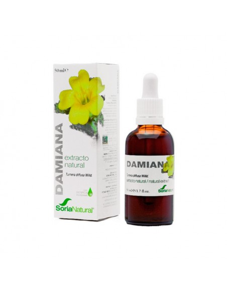 EXTRACTO NATURAL DE DAMIANA 50 ML SORIA NATURAL