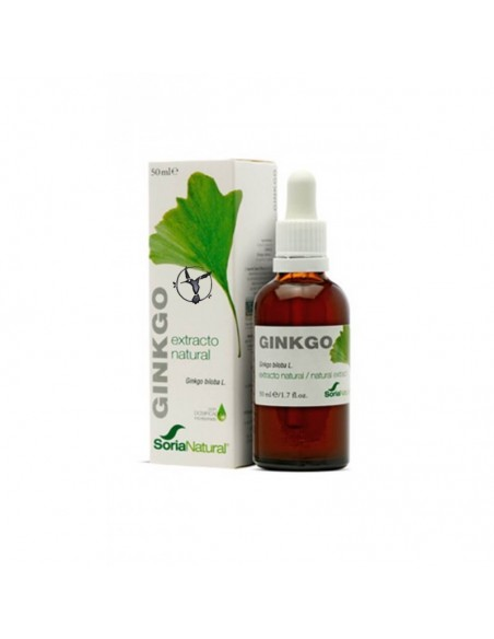 EXTRACTO DE GINKGO SORIA NATURAL 50 ML