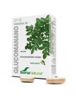 GLUCOMANANO SORIA NATURAL 60 CAPSULAS