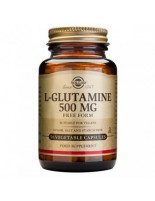 L-GLUTAMINA 500 MG 50 VEGICAPS SOLGAR