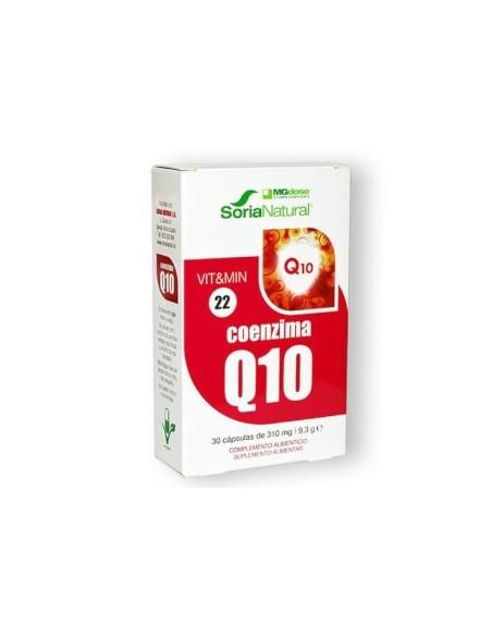 COENZIMA Q10 SORIA NATURAL 30 CAPSULAS