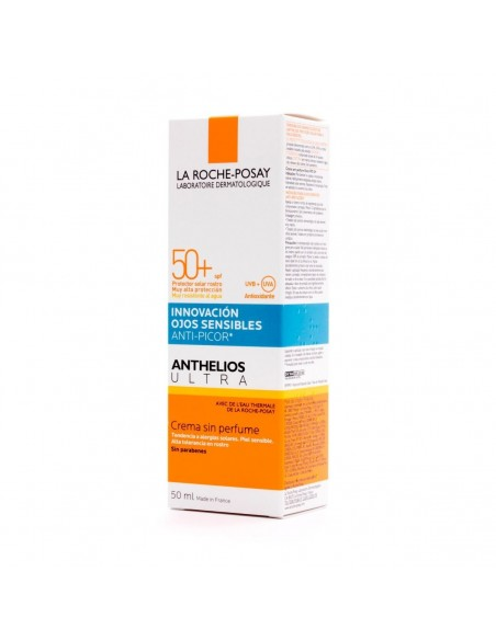 ANTHELIOS ULTRA 50+ CREMA SIN PERFUME  50 ML