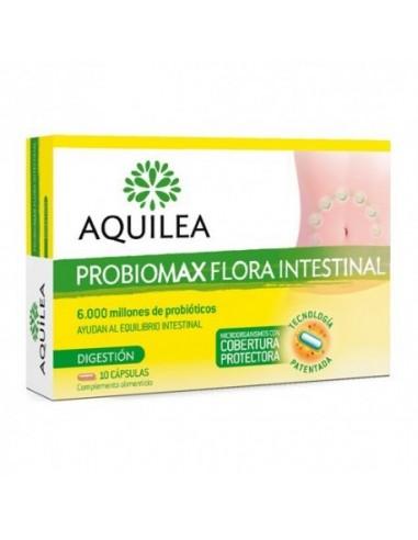 AQUILEA PROBIOMAX FLORA INTESTINAL ADULTOS  10 CAPS