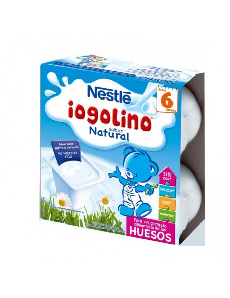 NESTLE YOGOLINO SABOR NATURAL 100 G 4 TARRINAS