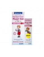FLUOR KIN INFANTIL ENJUAGUE BUCAL FRESA 500 ML + PASTA INFANTIL DE REGALO