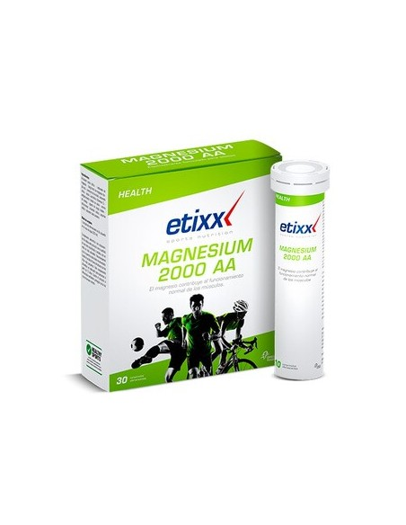 ETIXX MAGNESIO 2000 AA 30 COMPRIMIDOS EFERVESCENTES