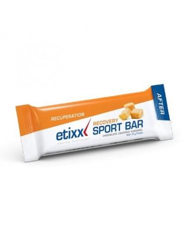 ETIXX RECOVERY SPORT BAR  CARAMEL 1 X 40 G