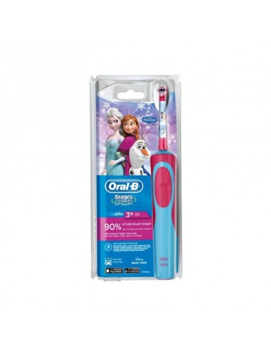 CEPILLO DENTAL ELECTRICO INFANTIL ORAL-B STAGES FROZEN +3AÑOS
