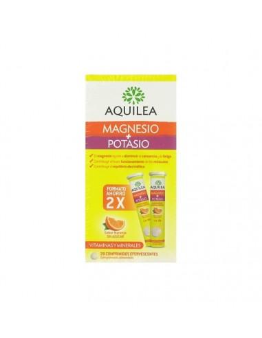AQUILEA MAGNESIO+ POTASIO COMP EFERVESCENTE  28 COMP EFERV