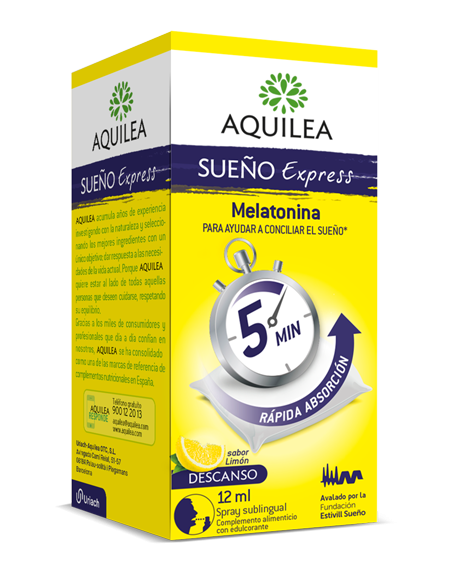 AQUILEA SUEÑO EXPRESS SPRAY SUBLINGUAL 1 MG 12 ML
