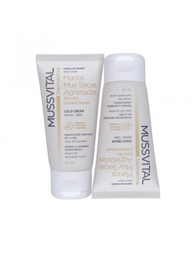 MUSSVITAL DERMACTIVE CREMA MANOS MUY SECAS AGRIE  50 ML