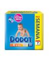 PAÑAL INFANTIL DODOT  PACK SEMANAL T- 4  9 -15 KG 30 U
