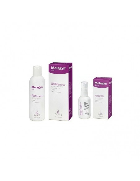 MELAGYN DUO SOL TOPICA Y GEL PROTECCION INTIMA ESTUCHE 40 ML + 200 ML