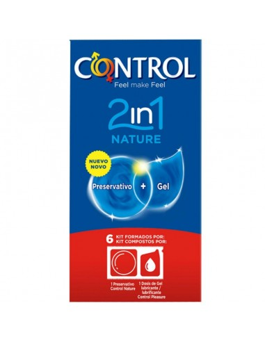 CONTROL 2IN1 NATURE PRESERVATIVOS 6 U