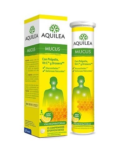 AQUILEA MUCUS COMP EFERVESCENTES  15 COMP