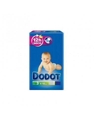 PAÑAL INFANTIL DODOT TALLA 3 32 UNIDADES