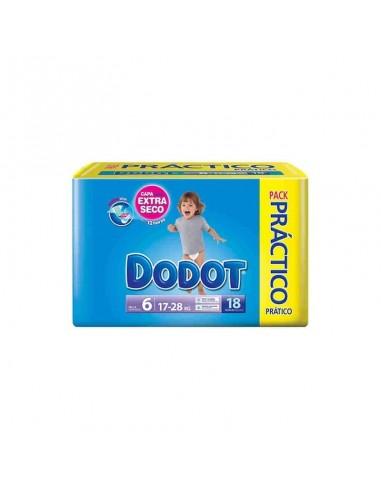 PAÑAL INFANTIL DODOT T- 6 17- 28 KG 22 U