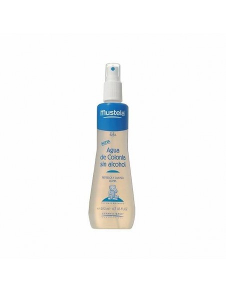AGUA DE COLONIA SIN ALCOHOL MUSTELA 200 ML