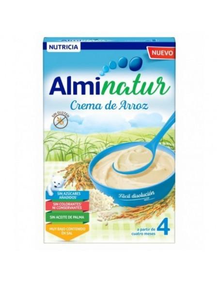 ALMINATUR CREMA DE ARROZ 250 GR