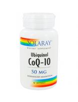 UBIQUINOL COQ10 50 MG 30 PERLAS SOLARAY