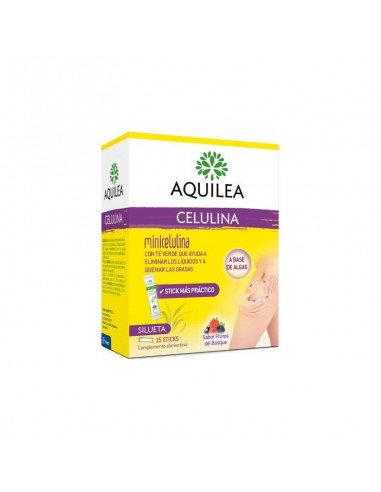 AQUILEA CELULINA STICKS BEBIBLES 10 ML 15 UNIDOSIS