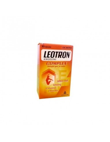 LEOTRON COMPLEX ANGELINI  30 CÁPSULAS