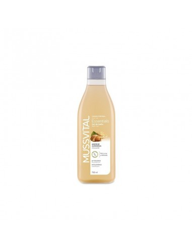 MUSSVITAL ESSENTIALS GEL DE BAÑO ACEITE ALMENDRA  750 ML