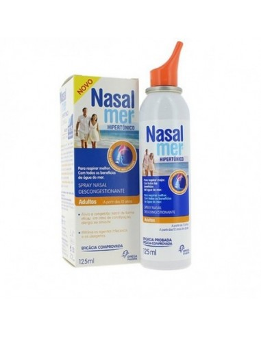 NASALMER HIPERTONICO ADULTOS SPRAY NASAL 125 ML