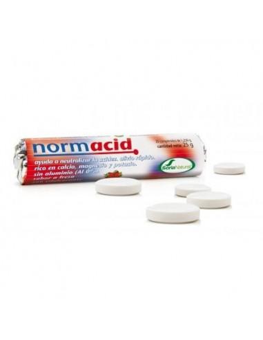 NORMACID 20 COMPRIMIDOS MASTICABLES SORIA NATURAL