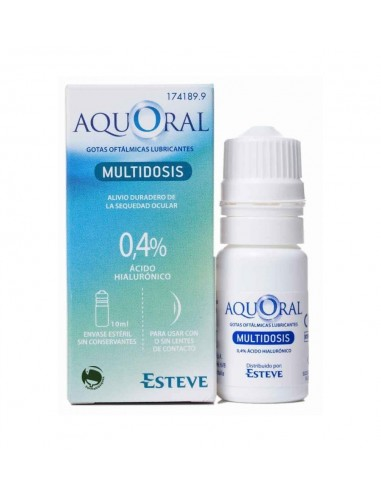 Aquoral gotas multidosis 10 ml