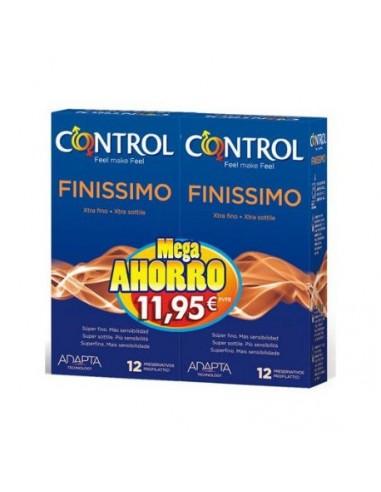 CONTROL FINISSIMO PRESERVATIVOS 12 +...