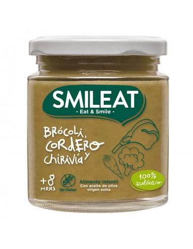 SMILEAT TARRITO BROCOLI CON CORDERO Y...