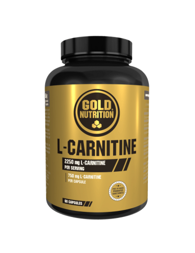 L-Carnitina Goldnutrition 750 mg 60...